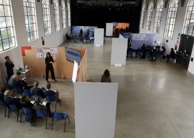 Sala teatrale_allestimento stand