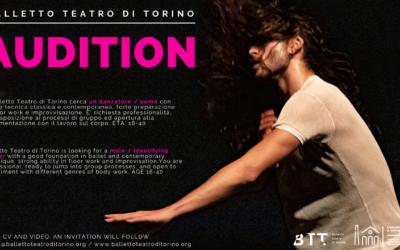 AUDITION BALLETTO TEATRO DI TORINO