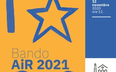Bando AiR -Artisti in residenza 2021